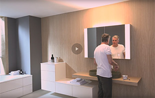 Video zum innovativen rc40 Spiegelschrank